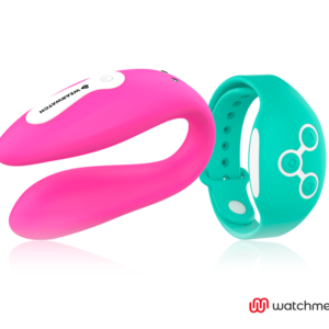 WEARWATCH VIBRADOR DUAL TECHNOLOGY WATCHME FUCSIA / AGUA MARINA