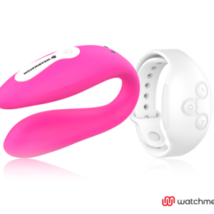 WEARWATCH VIBRADOR DUAL TECHNOLOGY WATCHME FUCSIA / NÍVEO