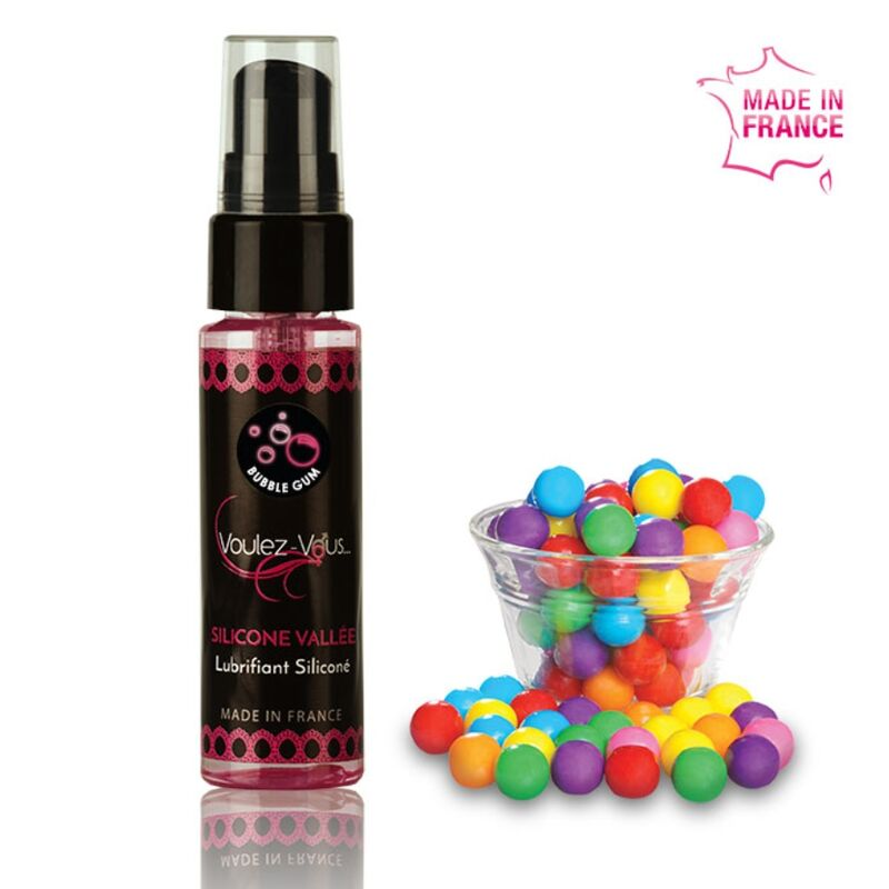 VOULEZ-VOUS LUBRICANTE SILICONA – CHICLE 35 ML